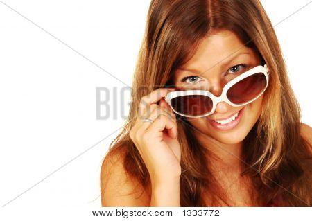 Sunglasses Brunette