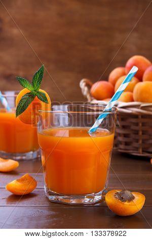 Fresh Apricot Juice
