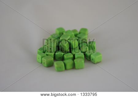Green Turquoise Squares