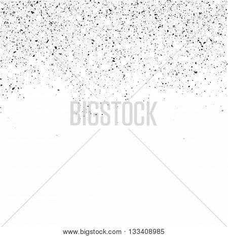 Grunge texture background. Grunge particles on white isolated.