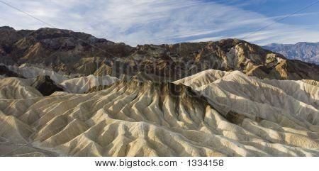 Cliff At Zabriskie Point