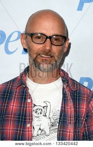 LOS ANGELES - JUN 7:  Moby at the Peta Celebrates Prince on his Birthday at the Peta's Bob Barker Building on June 7, 2016 in Los Angeles, CA