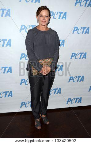 LOS ANGELES - JUN 7:  Belinda Carlisle at the Peta Celebrates Prince on his Birthday at the Peta's Bob Barker Building on June 7, 2016 in Los Angeles, CA