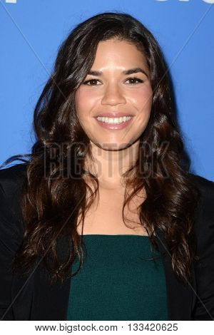 LOS ANGELES - JUN 7:  America Ferrera at the FYC Panel For Superstore at the UCB Theater on June 7, 2016 in Los Angeles, CA