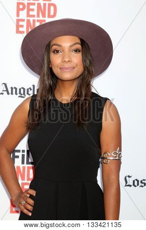 LOS ANGELES - JUN 7:  Lyndie Greenwood at the 2016 Los Angeles Film Festival - The Conjuring 2 Premiere at TCL Chinese Theater IMAX on June 7, 2016 in Los Angeles, CA