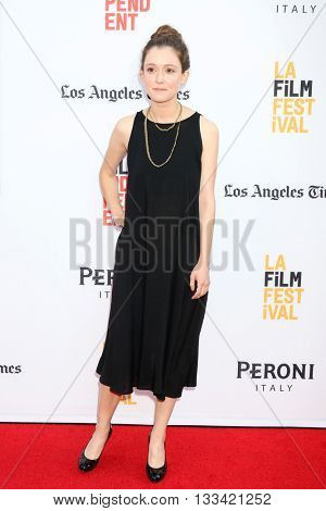 LOS ANGELES - JUN 7:  Hayley McFarland at the 2016 Los Angeles Film Festival - The Conjuring 2 Premiere at TCL Chinese Theater IMAX on June 7, 2016 in Los Angeles, CA