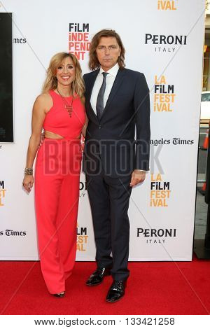 LOS ANGELES - JUN 7:  Michael Ann Young, Robin Atkin Downes at the 2016 Los Angeles Film Festival - The Conjuring 2 Premiere at TCL Chinese Theater IMAX on June 7, 2016 in Los Angeles, CA