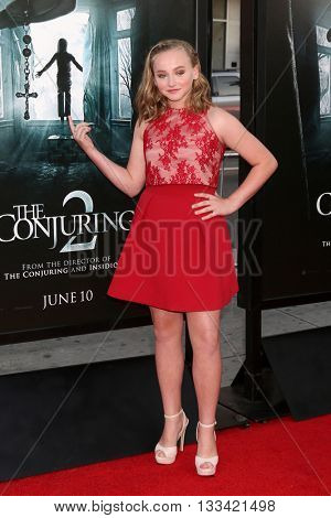 LOS ANGELES - JUN 7:  Madison Wolfe at the 2016 Los Angeles Film Festival - The Conjuring 2 Premiere at TCL Chinese Theater IMAX on June 7, 2016 in Los Angeles, CA