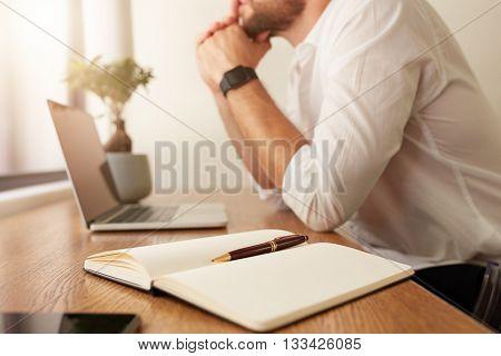 Personal Organizer On Work Desk