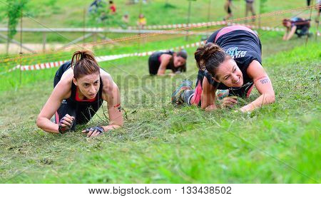 Storm Race - Extreme Obstacle Race In Oviedo, Spain.