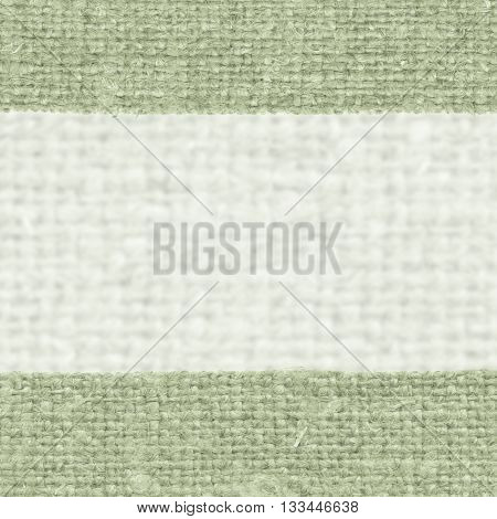 Textile linen fabric image emerald canvas cloth material close-up background