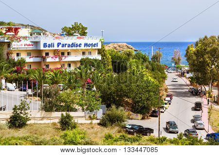 Bali Paradise Hotel, Village Bali, Rethymno, Crete, Greece