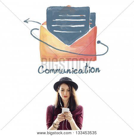 E-mail Communication Connection Online Concept
