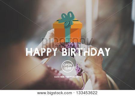 Happy Birthday Event Occasion Anniversary Concept