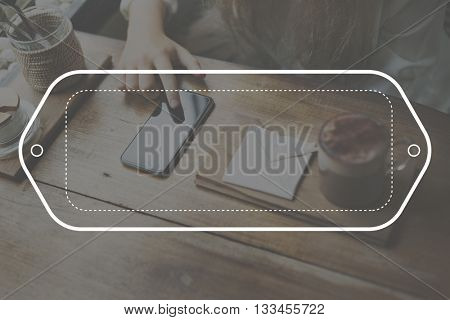Banner Copy-space Template Blank Frame Concept