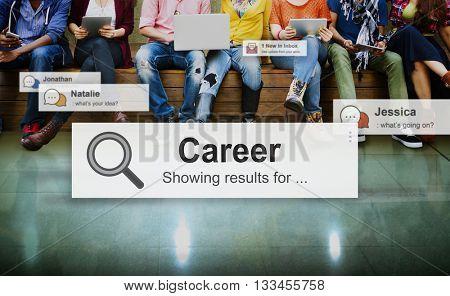 Career Job Occupation Profession Concept