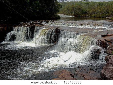 Cascada de Jaspe, Parque la Gran Sabana, Venezuela
