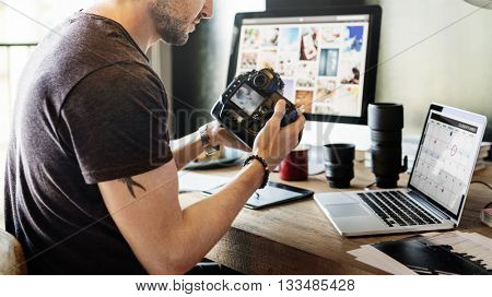 Photographer Photograph Photo Photography Concept poster