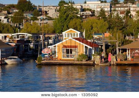 Houseboat In Seattle