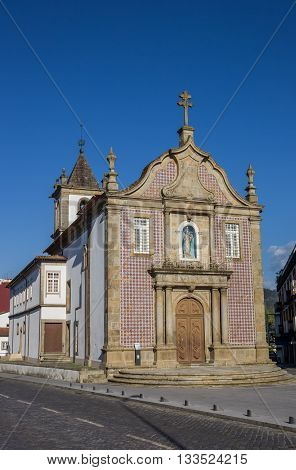 Senhora A Branca Church In The Center Of Braga