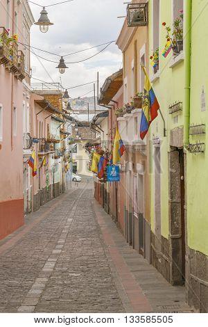 La Ronda Quito Ecuador