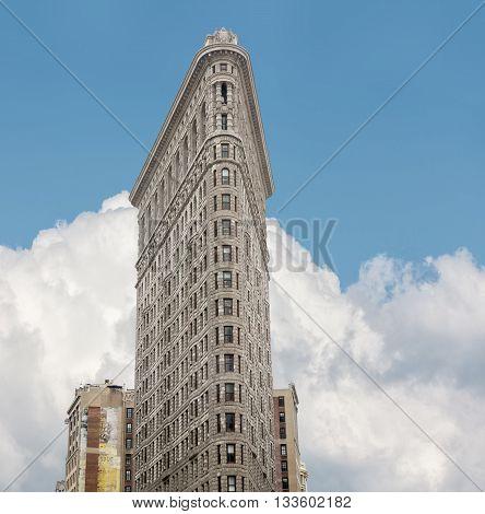 Flatiron Building At Nyc