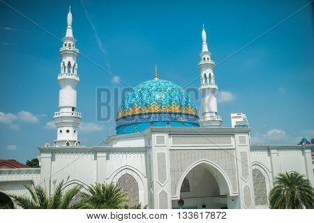 White Mosque In Kuala Lumpur