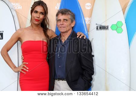LOS ANGELES - JUN 8:  Daniella Alonso, Charles Croughwell at the Animal Kingdom Premiere Screening at the The Rose Room on June 8, 2016 in Venice Beach, CA