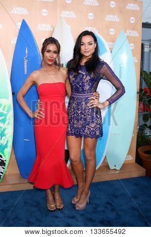 LOS ANGELES - JUN 8:  Daniella Alonso, Christina Ochoa at the Animal Kingdom Premiere Screening at the The Rose Room on June 8, 2016 in Venice Beach, CA