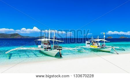 Boats On Beach