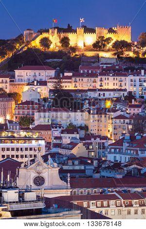 The Castle Of Sao Jorge