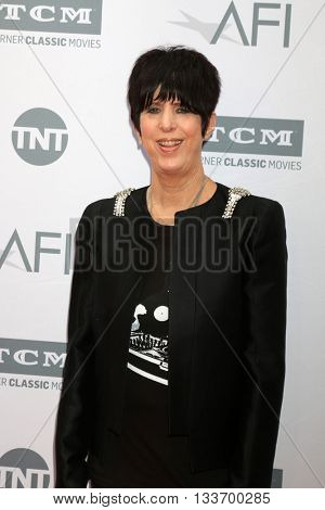 LOS ANGELES - JUN 9:  Diane Warren at the American Film Institute 44th Life Achievement Award Gala Tribute to John Williams at the Dolby Theater on June 9, 2016 in Los Angeles, CA