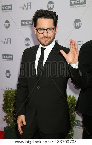 LOS ANGELES - JUN 9:  J.J. Abrams at the American Film Institute 44th Life Achievement Award Gala Tribute to John Williams at the Dolby Theater on June 9, 2016 in Los Angeles, CA
