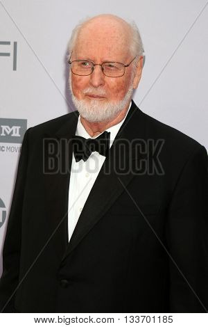 LOS ANGELES - JUN 9:  John Williams at the American Film Institute 44th Life Achievement Award Gala Tribute to John Williams at the Dolby Theater on June 9, 2016 in Los Angeles, CA