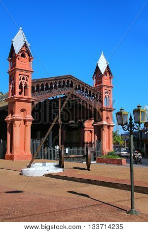 Former Train Station In Asuncion, Paraguay