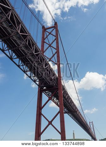 the famous City of lisbon in portugal