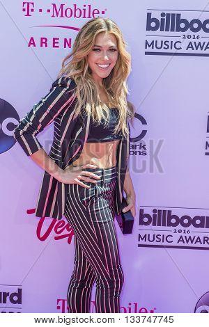 LAS VEGAS - MAY 22 : Singer Rachel Platten attends the 2016 Billboard Music Awards at T-Mobile Arena on May 22 2016 in Las Vegas Nevada.