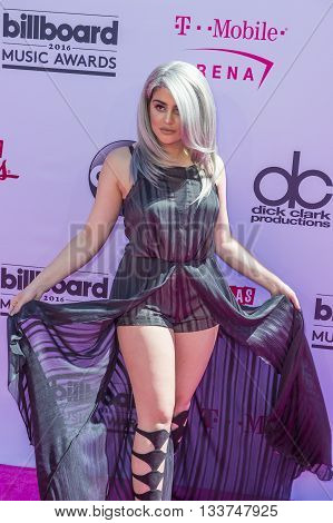 LAS VEGAS - MAY 22 : Internet personality Lauren Giraldo attends the 2016 Billboard Music Awards at T-Mobile Arena on May 22 2016 in Las Vegas Nevada.