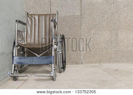 Wheelchair Empty In Hospital