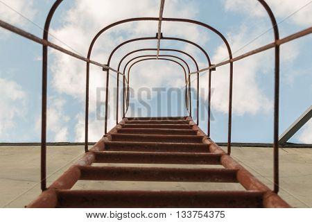 Fixed Ladder Upto Sky