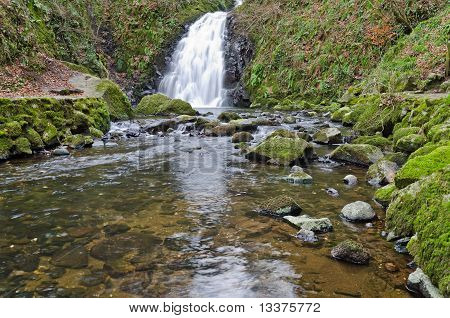 Glenoe Waterfall - part two