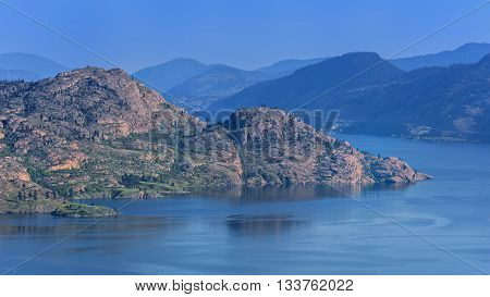 Okanagan Lake near Peachland British Columbia Canada