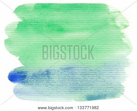 blue green linear abstract textures watercolor background