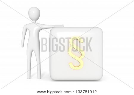 Law Cube Golden Image Photo Free Trial Bigstock