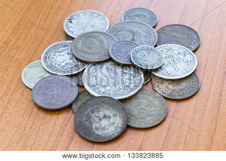 Old Expired Coins. Ussr Coins And Silver Coins