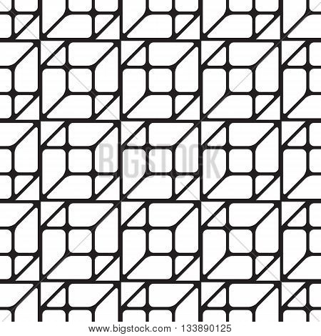Simless Cubic Pattern