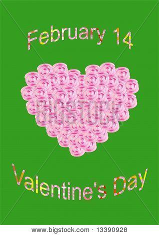 Congratulations Happy Valentine's Day.