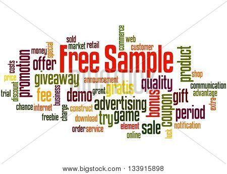 Free Sample, Word Cloud Concept 2