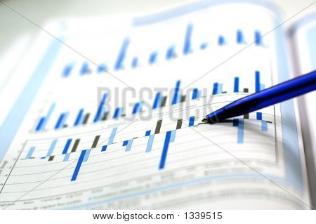 Photo Of The Financial Chart