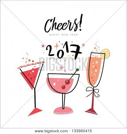 Cheers! Happy New Vector & Photo (Free Trial) | Bigstock